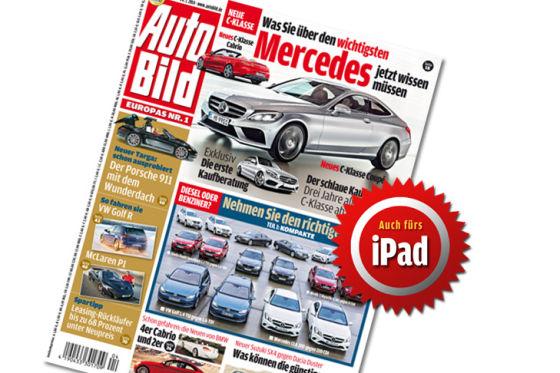 Titel Auto Bild 04-2014 iPad