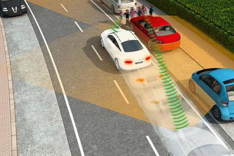 Handy-Zubehör lässt Autos Fußgänger orten