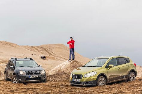 Dacia Duster Suzuki SX4