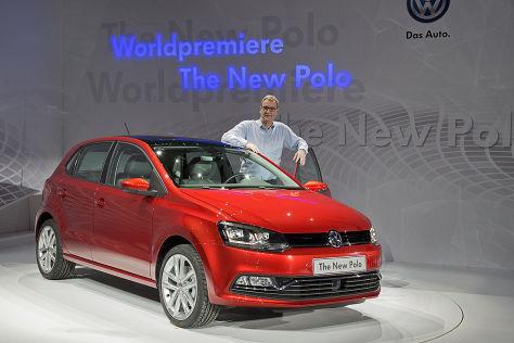 Sitzprobe VW Polo Facelift