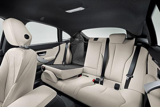 BMW 4er Gran Coupé Rückbank