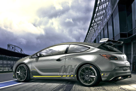 Opel Astra OPC Extreme: Supersportler-Studie