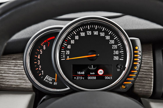 Mini Cooper F56 (2014) Rundinstrument