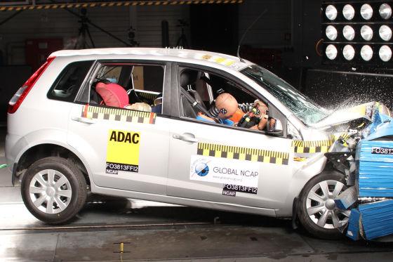 Tata Nano: Null Sterne beim NCAP-Crashtest