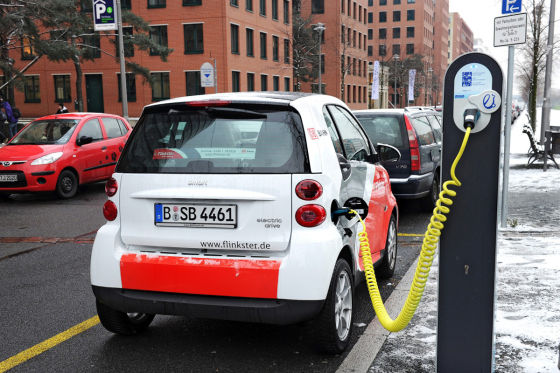 Smart Electric Drive von Kooperationspartner Multicity