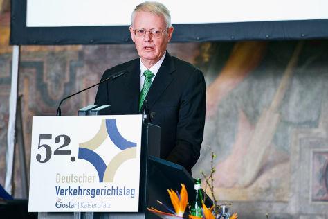 52. Verkehrsgerichtstag in Goslar beendet