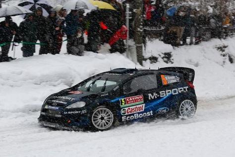 Mikko Hirvonen könnte in Schweden ein Schnee-Schotter-Mix erwarten
