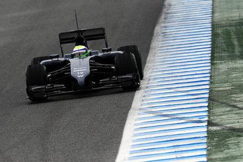 Positiver Testabschluss für Williams: Felipe Massa erzielt Bestzeit in Jerez
