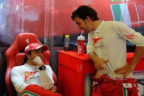 Bei Ferrari hat Felipe Massa die Stärken Fenando Alonsos kennengelernt