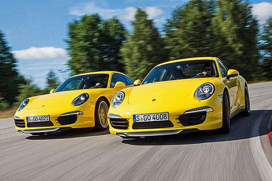 Porsche 911 Carrera 4S und Porsche 911 Carrera S