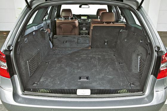 Mercedes E350 CDI, Kofferraum