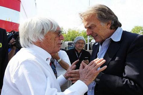 Ecclestone erklärt di Montezemolo, warum man das System einführte