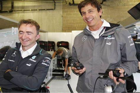 Paddy Lowe und Toto Wolff sind das neue Führungsduo bei Mercedes