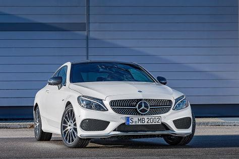 Mercedes C-Klasse: Coupé und Cabrio