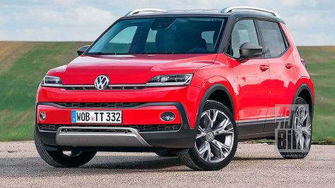 VW T-Track/Up-SUV (2020): Vorschau