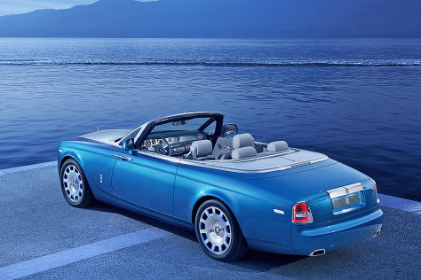 Rolls-Royce Phantom Cabrio: Waterspeed Collection