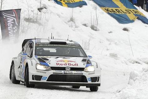 Ogier führt bei der Rallye Schweden, hat aber seine Teamkollegen im Nacken