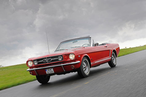 Ford Mustang 289 cui High Performance