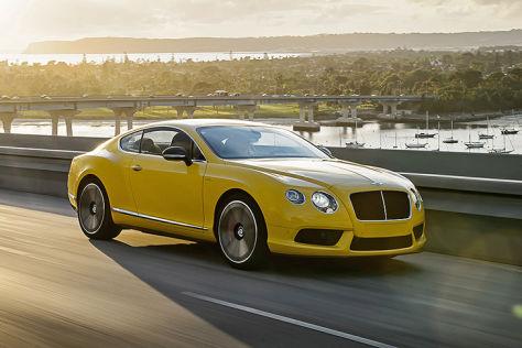 Bentley Continental GT V8 S: Fahrbericht