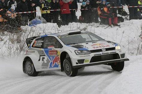 Jari-Matti Latvala büßte in den beiden kurzen Superspecials einige Sekunden ein