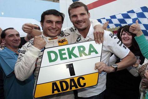 Wer ist hier die Nummer eins? Bruno Spengler (li.) und Martin Tomczyk