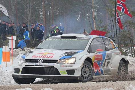Jari-Matti Latvala holte seinen zweiten WRC-Sieg für Volkswagen