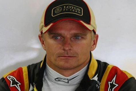 Heikki Kovalainen konnte als Lotus-Ersatzfahrer nicht überzeugen