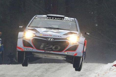 Hyundai zeigte in Schweden zeitweise, welches Potenzial im i20 WRC steckt