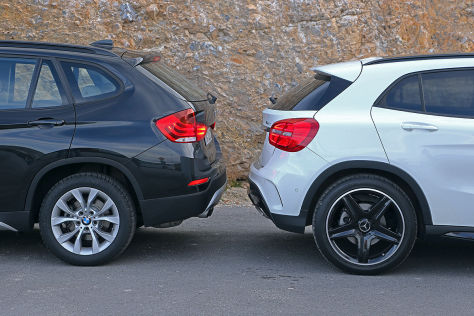 BMW X1 Mercedes GLA