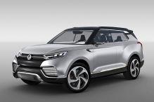 Futuristische Hybrid-SUV-Studie