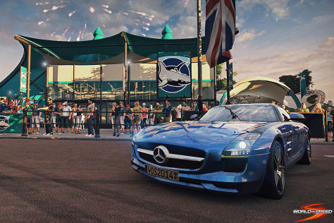 Mercedes SLS AMG World of Speed