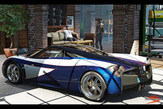 Pagani Huayra World of Speed