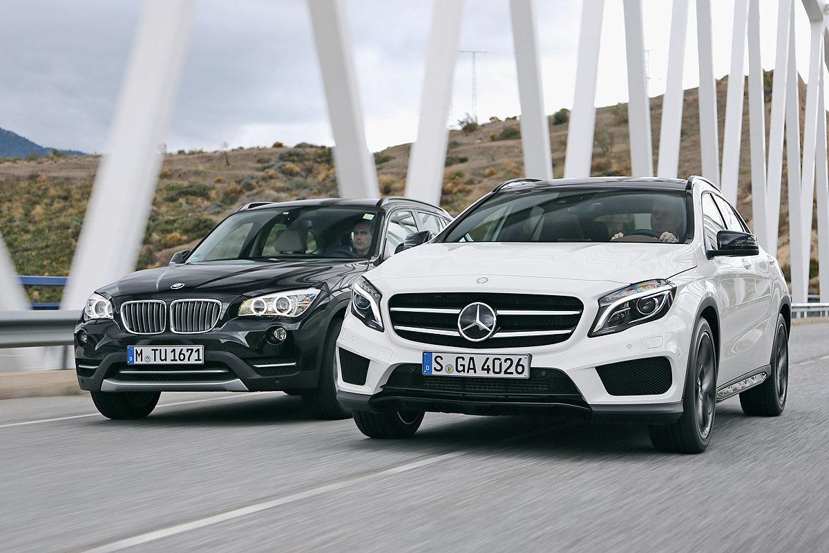 Vergleich mercedes gla gegen bmw x1 bilder for Mercedes benz x1