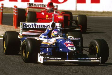 1997: Jacques Villeneuve und Michael Schumacher kämpfen um den WM-Titel