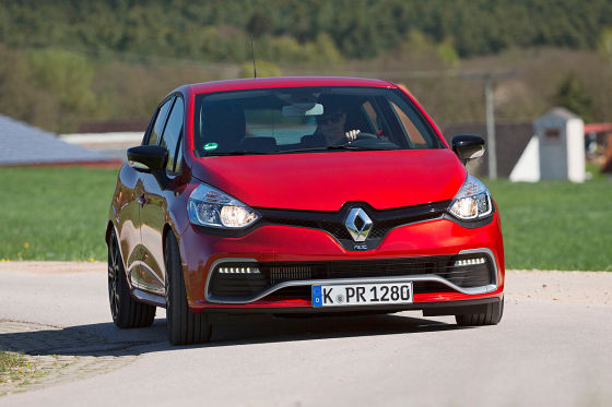 Renault Clio RS Cup rot Frontansicht