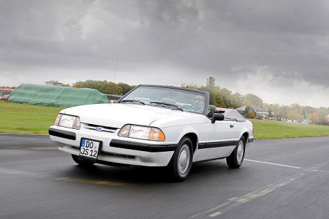 Test: Ford Mustang 2.3 LX Convertible
