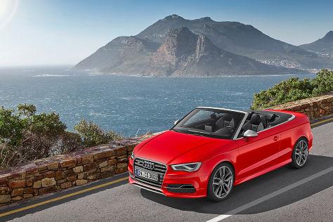 Audi S3 Cabrio: Genfer Autosalon 2014