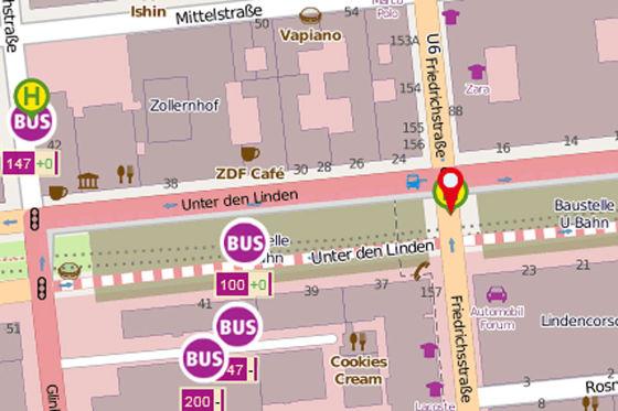 VBB-App zum öffentlichen Verkehr in Berlin