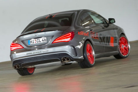 SKN Mercedes CLA 250 Edition 1: Tuning