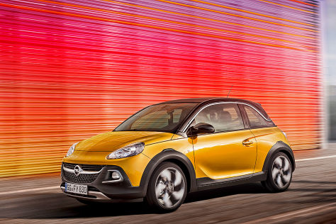 Opel Adam Rocks: Premiere in Genf