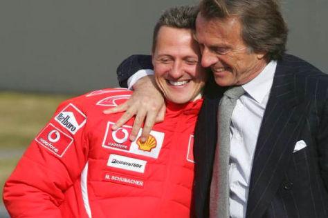 Luca di Montezemolo ist weiter im Gedanken bei Michael Schumacher