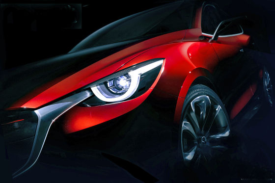 Mazda Hazumi Concept Car