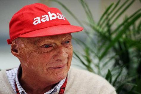 Niki Lauda denkt auch mit fast 65 nicht ans Aufhören