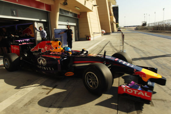 Red Bull bei Test in Bahrain