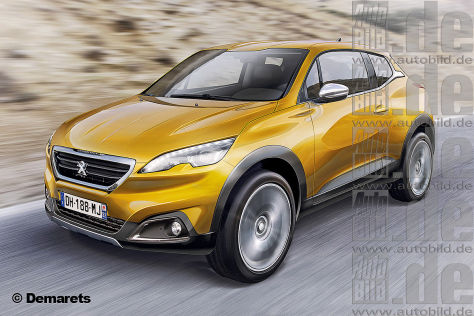 Peugeot 2008 SUV Illustration