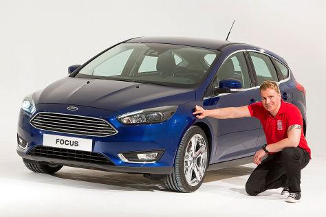 Ford Focus FL: Sitzprobe