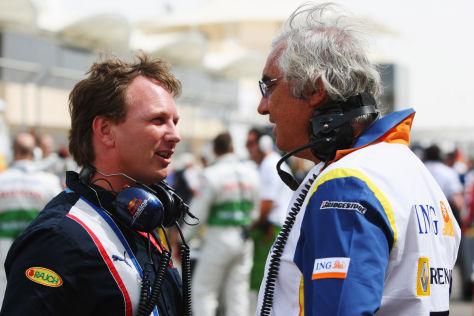 Christian Horner ärgert sich über eine Entscheidung von Flavio Briatore