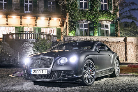 Bentley-Neuerscheinungen: Genfer Autosalon 2014