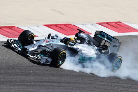 Lewis Hamilton will mit fahrerischer Klasse zum zweiten WM-Titel seiner Karriere