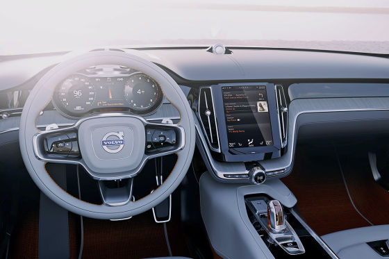 Volvo Concept Estate Cockpit